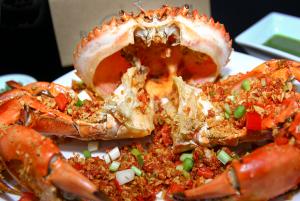 Món ăn cua hoàng đế dễ làm tại nhà